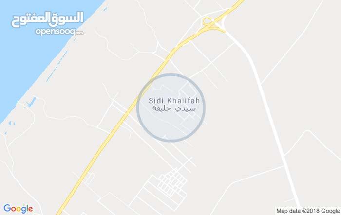 قطعه ارض 500 متر في حي الاندلس سيدي خليفة  علي شارع 12 بيع كاش وشيك مصدق