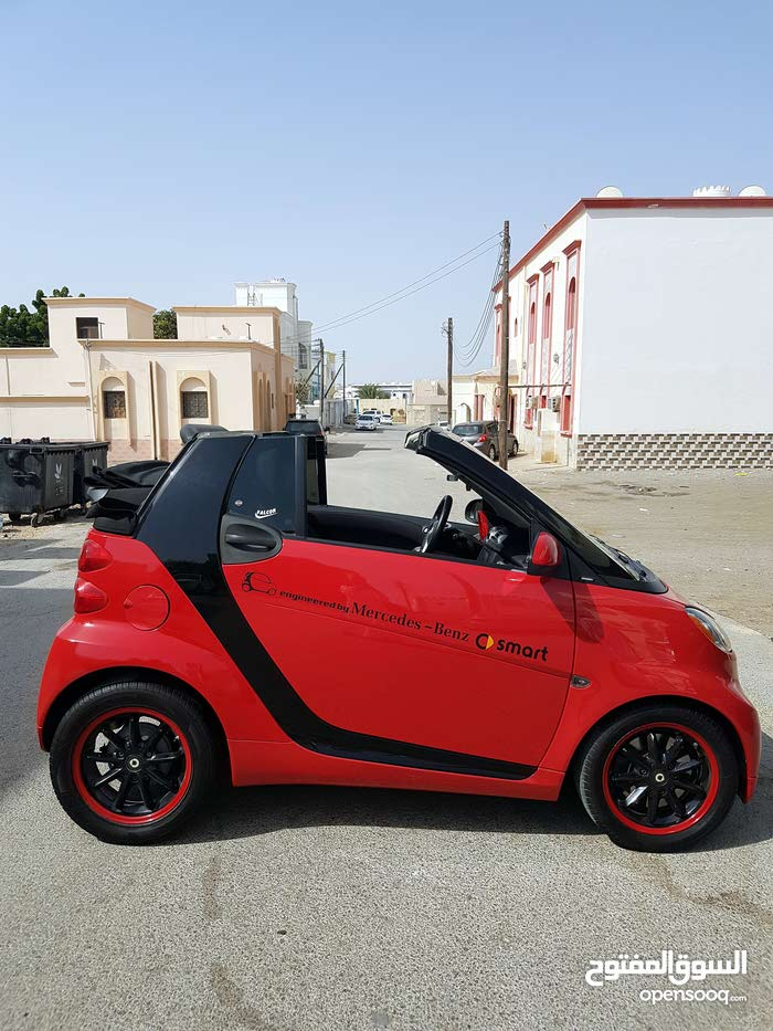 Mercedes Benz Smart 2012 convertible