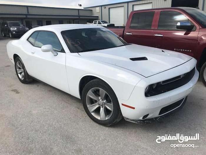White Dodge Challenger 2015 for sale