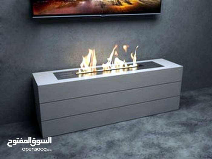فايير بلاس غاز  fireplace gaz