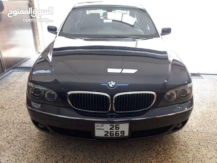 Purple BMW 745 2004 for sale