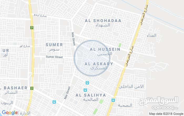الناصريه الحي العسكري خلف المخازن قرب مدرسه الاجيال