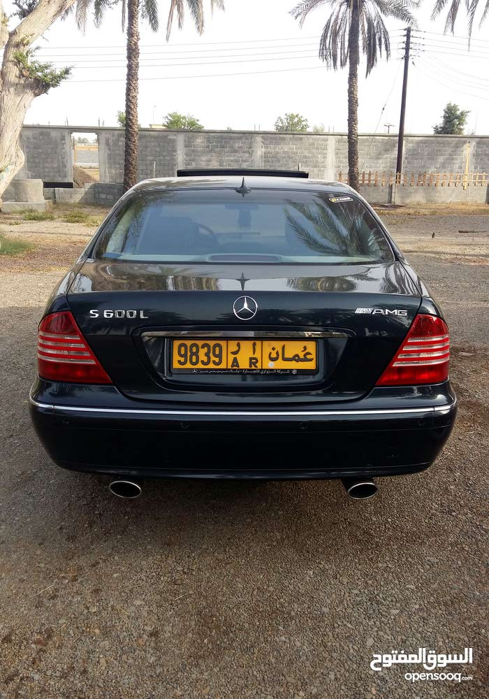 Best price! Mercedes Benz S 500 2001 for sale