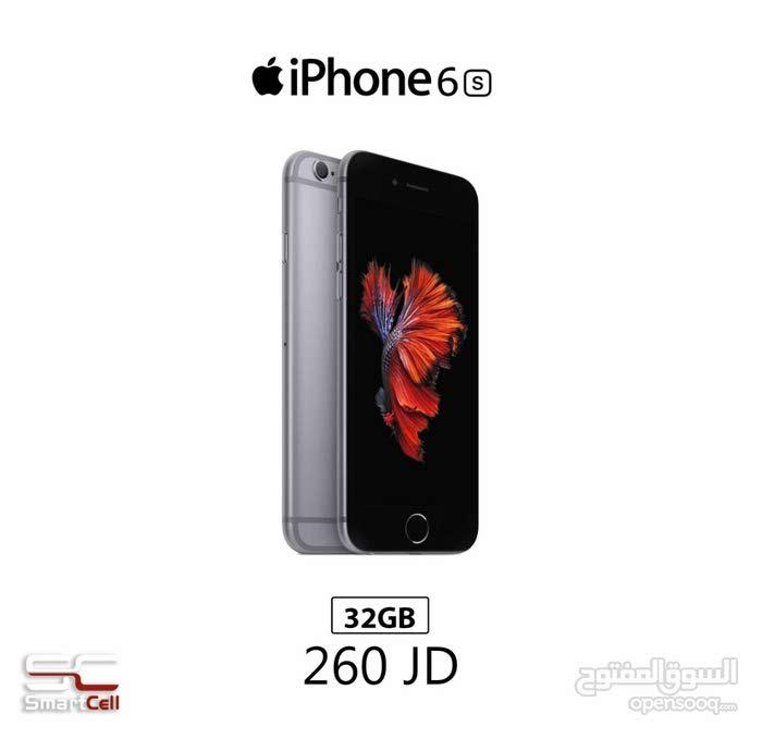 ايفون 6S الجديد بسعة 32 غيغا جديد للبيع