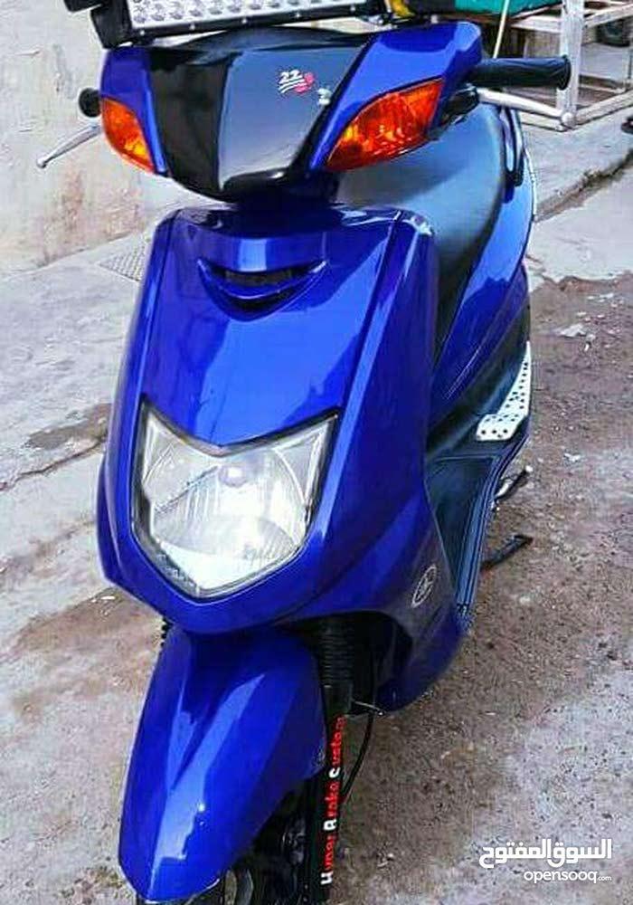 Yamaha motorbike made in 2017