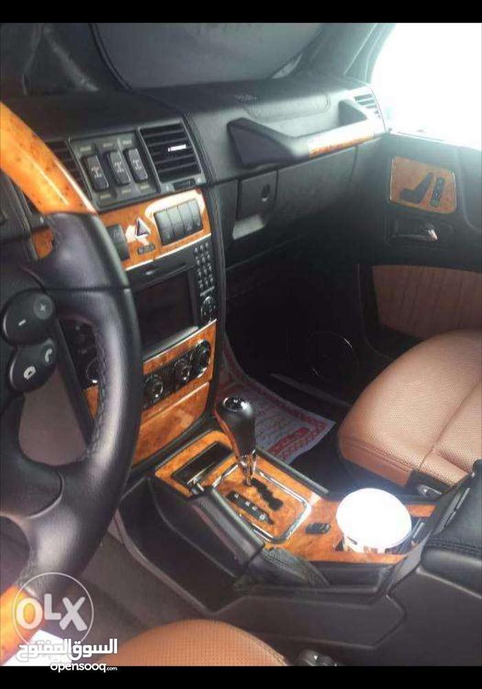 مرسيدس G55 خليجي موديل 2010 محول G63 ماشية 114000 بدون حوادث وقمة في النظافة.