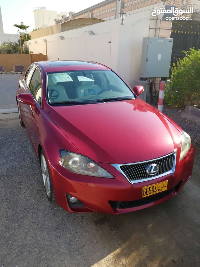 Red Lexus IS 2011 for sale