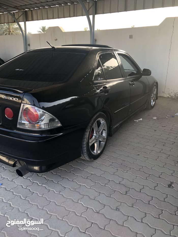 Lexus IS 2002 For sale - Black color
