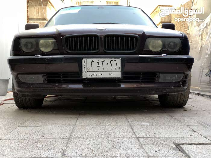 BMW 740 made in 1998 for sale