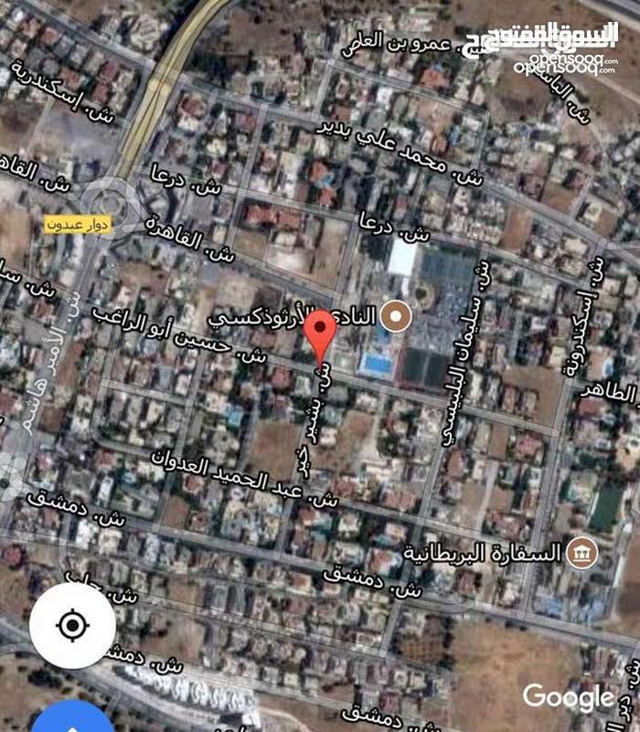 ارض مساحة 860 متر بضاحية ابو الراغب تصلح اسكان