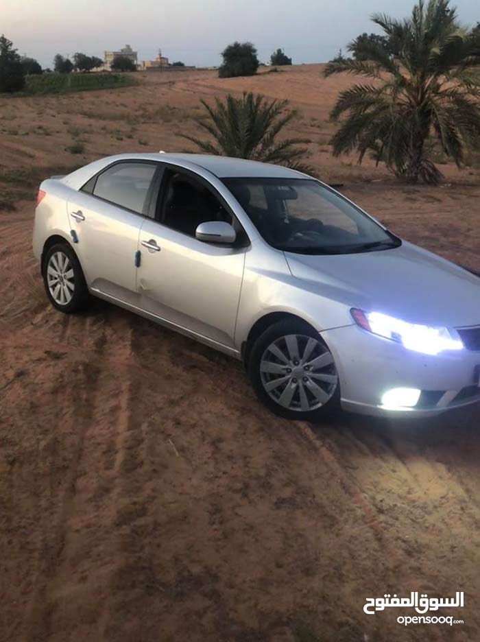 Kia Cerato 2011 For sale - Grey color