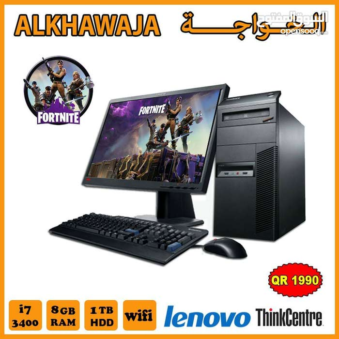 Lenovo Desktop computer available for Sale in Doha