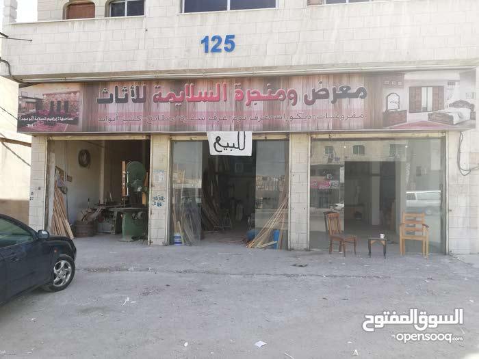 محل للبيع فارغه على شارع ياجوز في الزرقاء
