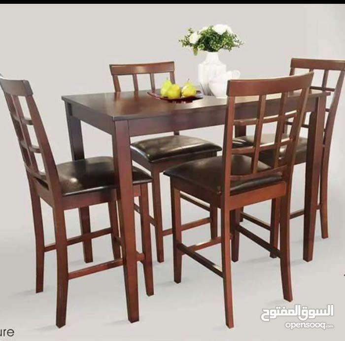 طاولة سفرة مكونة من 6 كراسي بسعر محروق 220 د