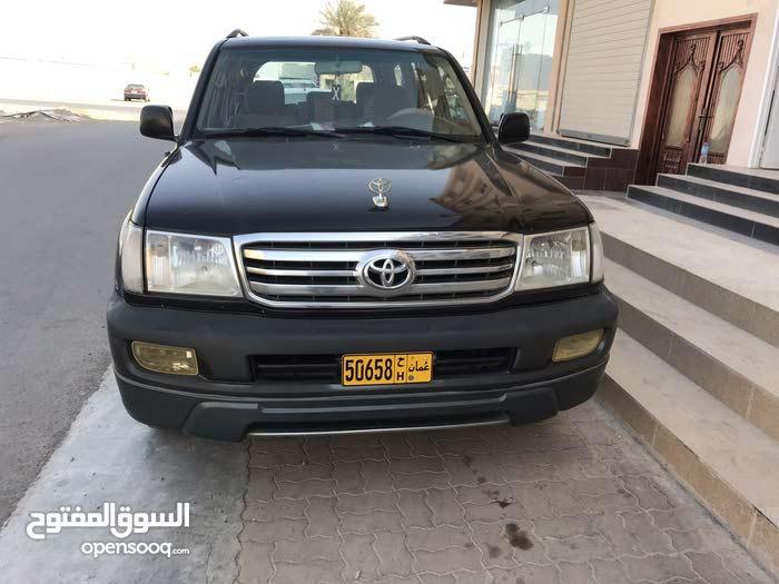 Black Toyota Land Cruiser 2002 for sale