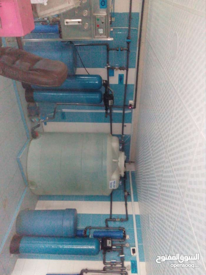 للبيع محطة لتقنية مياه الشرب بداعي السفر