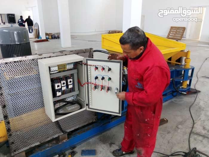 صناعة ماكينات رسكلة الحديد