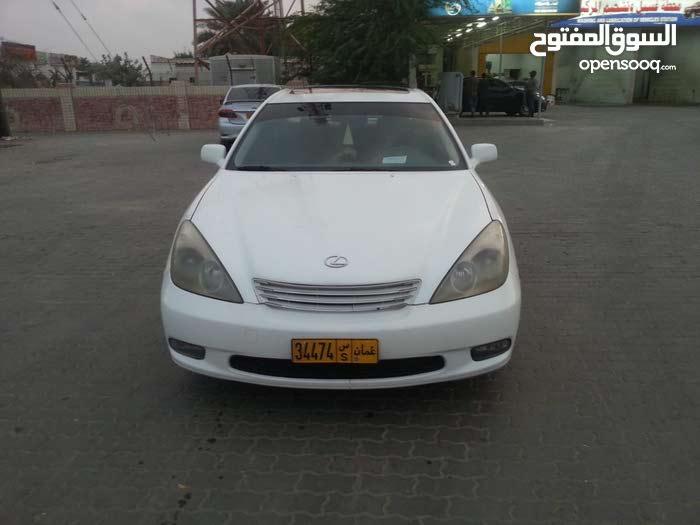 White Lexus ES 2002 for sale