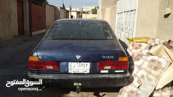 Automatic Blue BMW 1991 for sale
