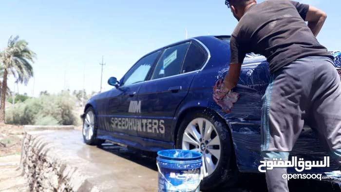 BMW محرك 2500 حجم 525 تبريد شغال كهربائيات شغاله  حداديه 60 بالميه غرقه 60 بالمي