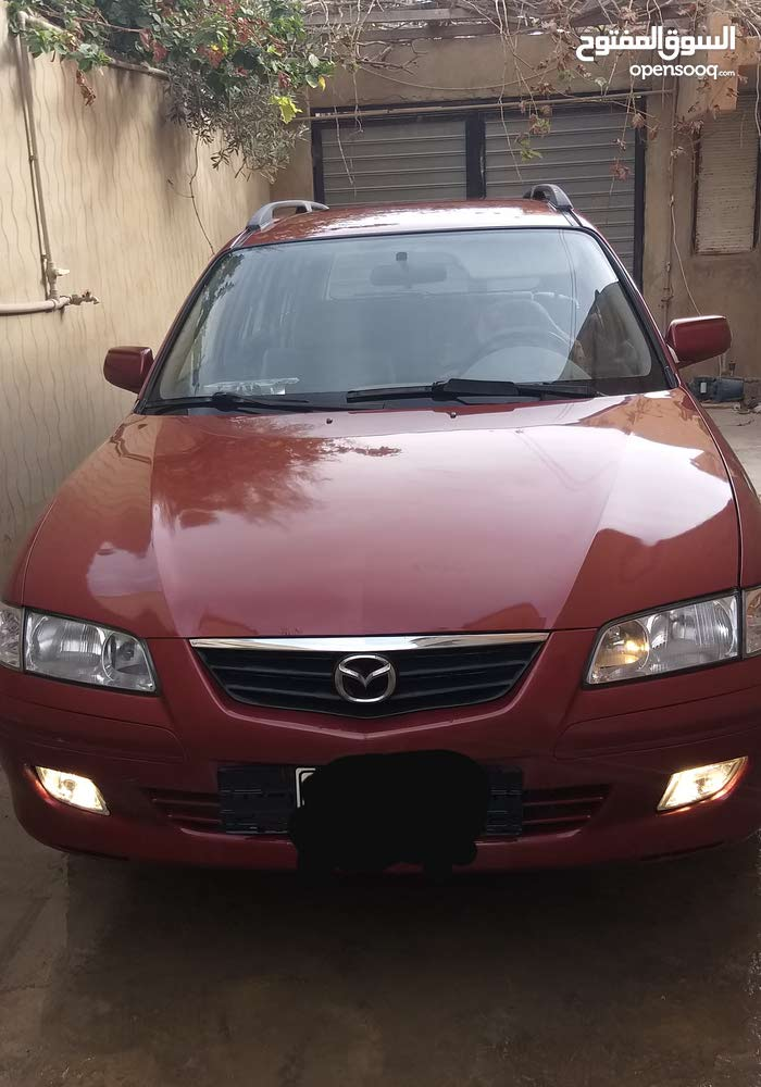Red Mazda 626 2004 for sale
