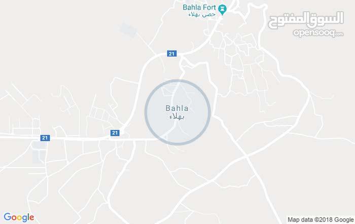 ايصال ارض سكنية للبيع في ولاية بهلاء