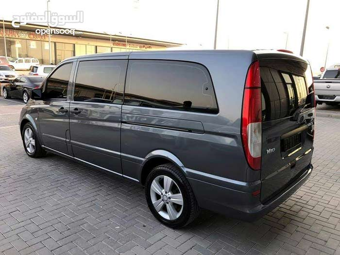 For a Monthly rental period, reserve a Mercedes Benz Vito 2006