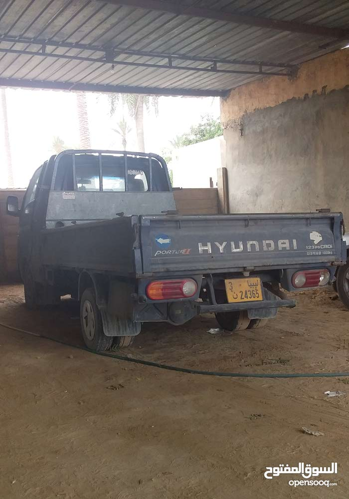For sale Hyundai Porter car in Misrata