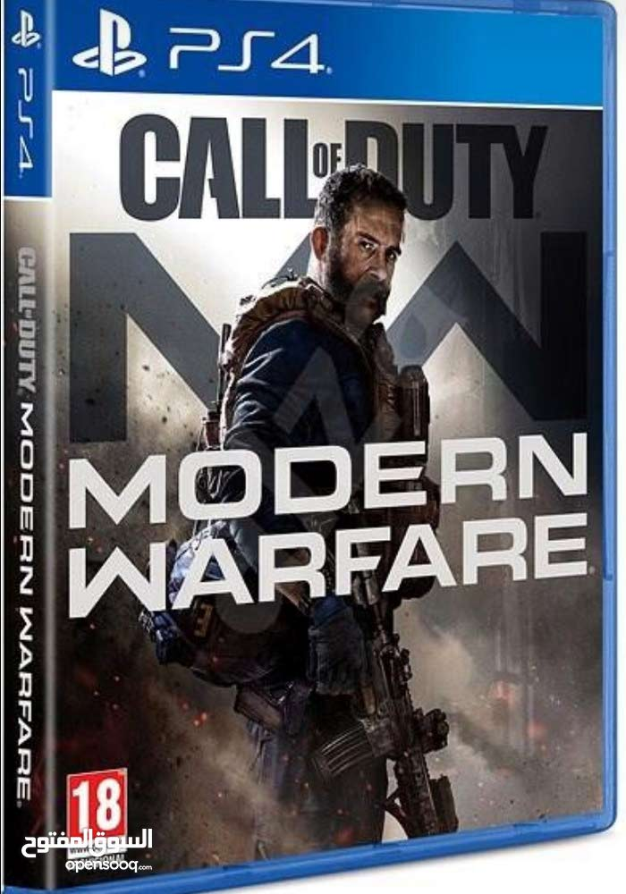 PS4 GAME CALL OF DUTY MODERN WARFARE