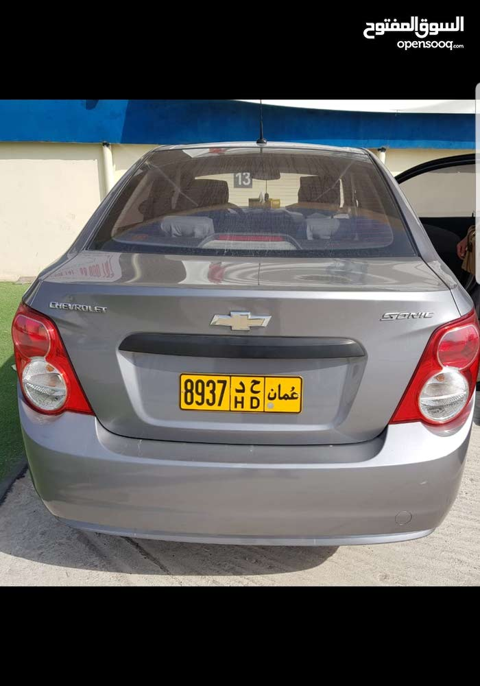 Chevrolet Sonic car for sale 2012 in Muscat city