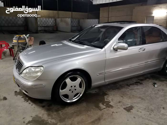 Used condition Mercedes Benz S 500 2000 with 30,000 - 39,999 km mileage
