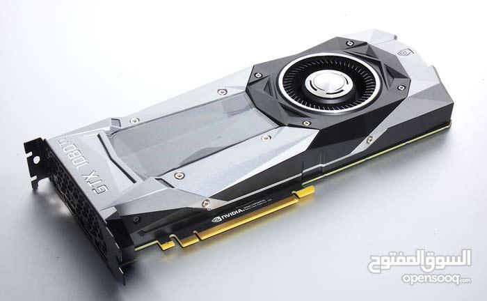 كرت شاشه Nvidia Geforce 1080 TI 11 GB مستعمل
