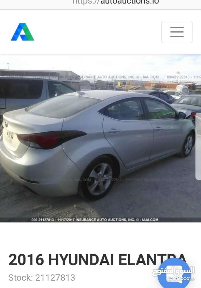 Hyundai Elantra in Baghdad