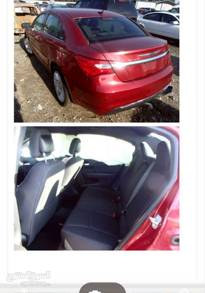 Chrysler 200 2013 For sale - Maroon color