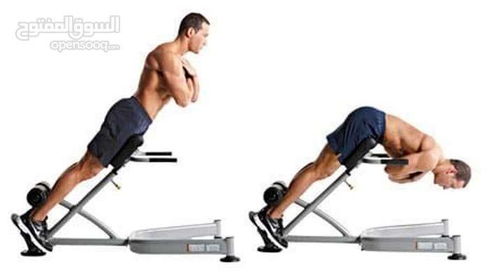 بنش تمارين الظهر مثالي لعضلات الظهر و أستعماله لعدة تمارين,متعدد الأرتفاعات و قابل للطوي/ بسعر مغري