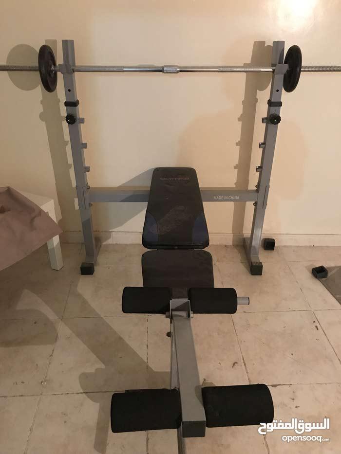 للبيع كرسي حامل اثقال في جدة