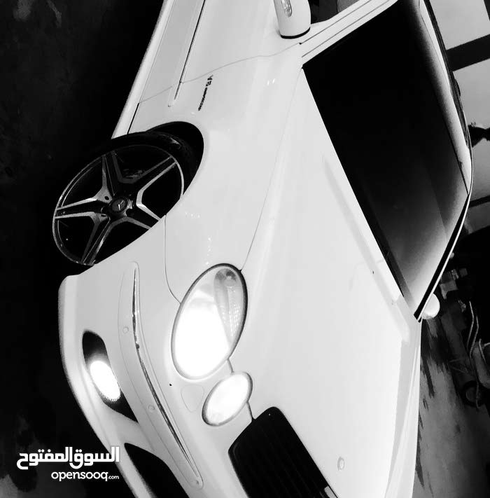 Mercedes Benz E55 AMG 2006 For sale - White color