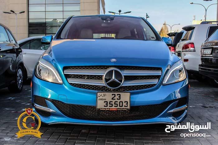 Mercedes Benz B Class 2015 For sale - Blue color