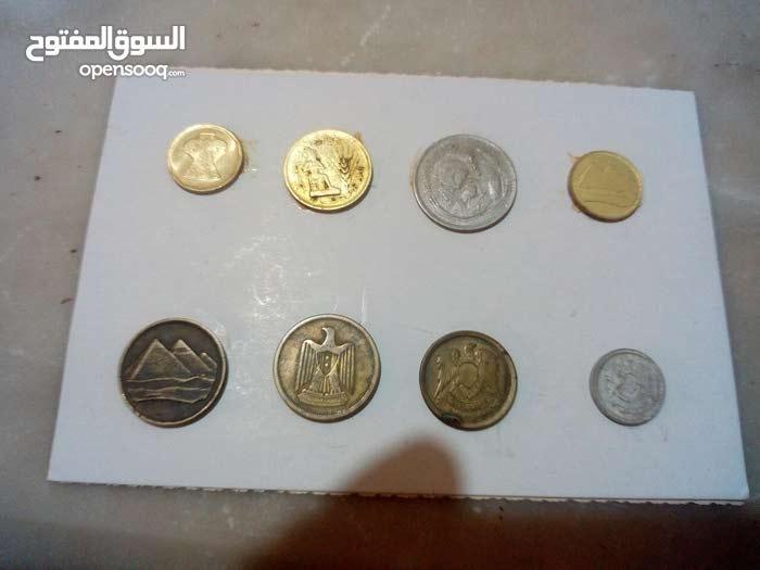 مجموعة عملات قديمه عربيه واجنبيه