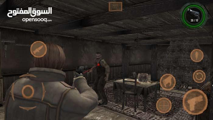 لعبة ريزدينت ايفل 4 على الآندرويد
