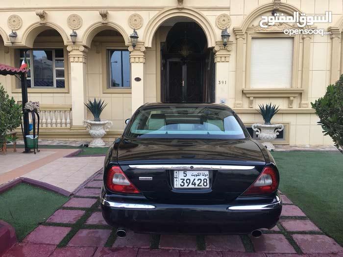 Black Jaguar XJ 2007 for sale