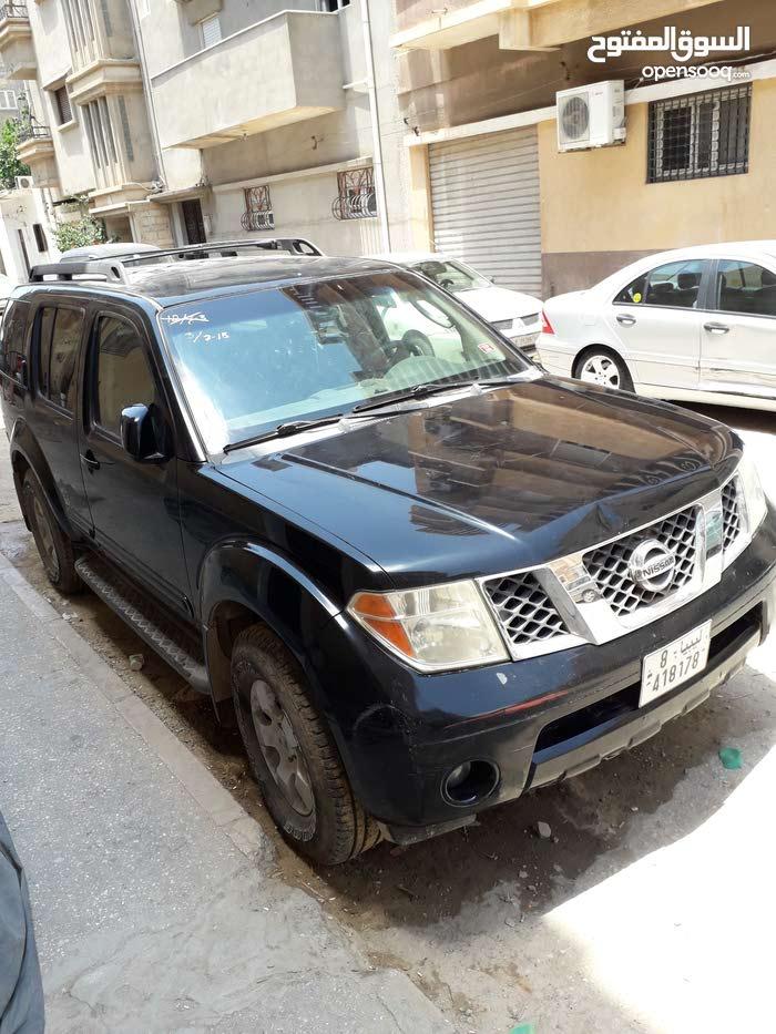 Black Nissan Pathfinder 2005 for sale