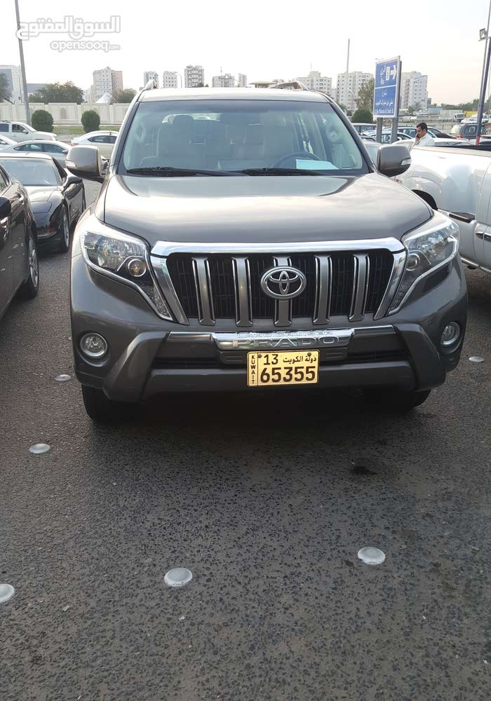 2015 Used Prado with Automatic transmission is available for sale