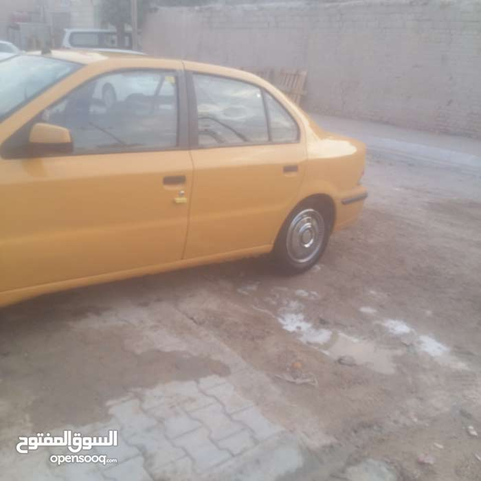 For sale 2011 Yellow Samand