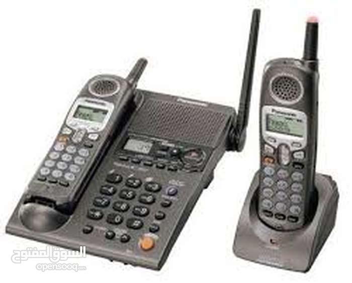 صيانة جميع أنواع الهواتف الأرضية العادية منها واللاسلكية .