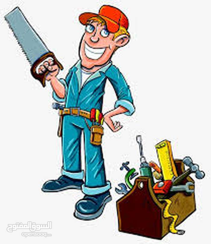 الورشة المهنية لأعمال الحرفية ( المواسير , مواسرجي ، كهرباء ، حداده ، بناء )