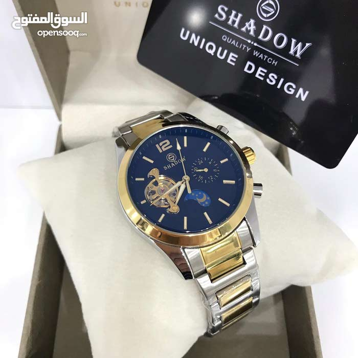 shadow automatic watch for man