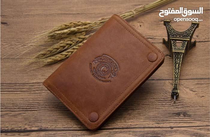 محفظه جلد طبيعي