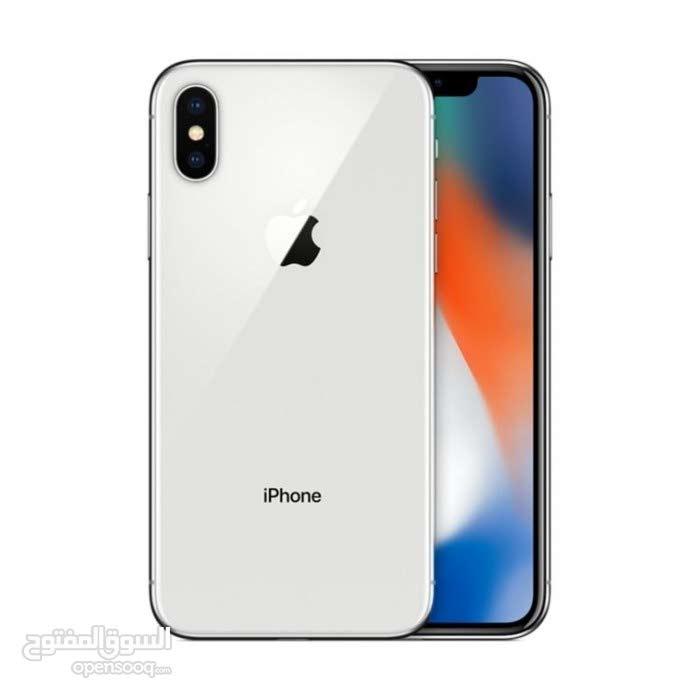I phone x 256 giga   silver
