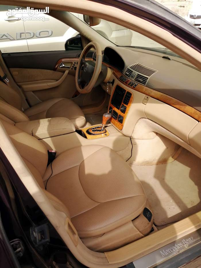 +200,000 km Mercedes Benz S 320 2002 for sale